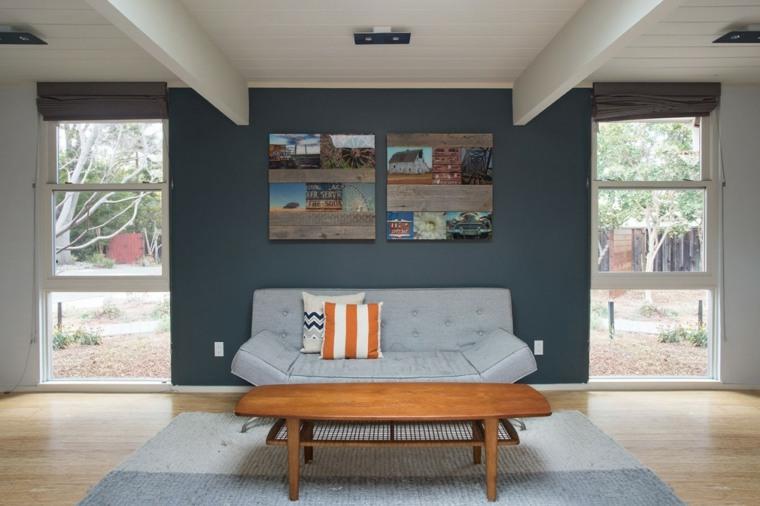 salones modernos distintos disenos sofa pequena ideas