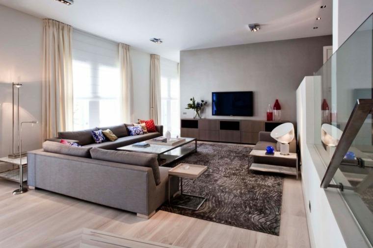 salones modernos distintos disenos televisor ideas