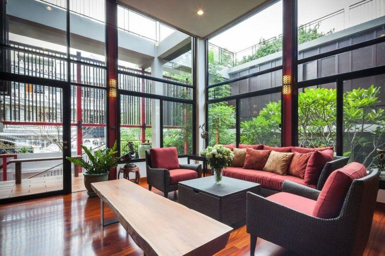 salones modernos distintos disenos ventanales ideas
