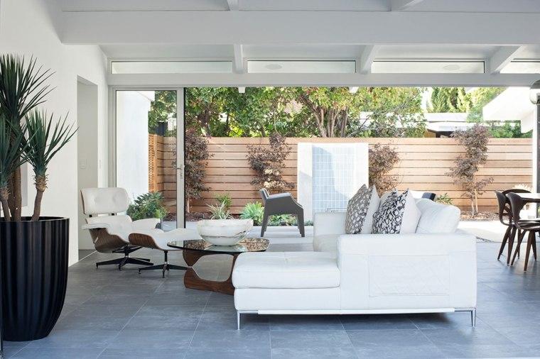 salones modernos distintos disenos sofa blanca ideas