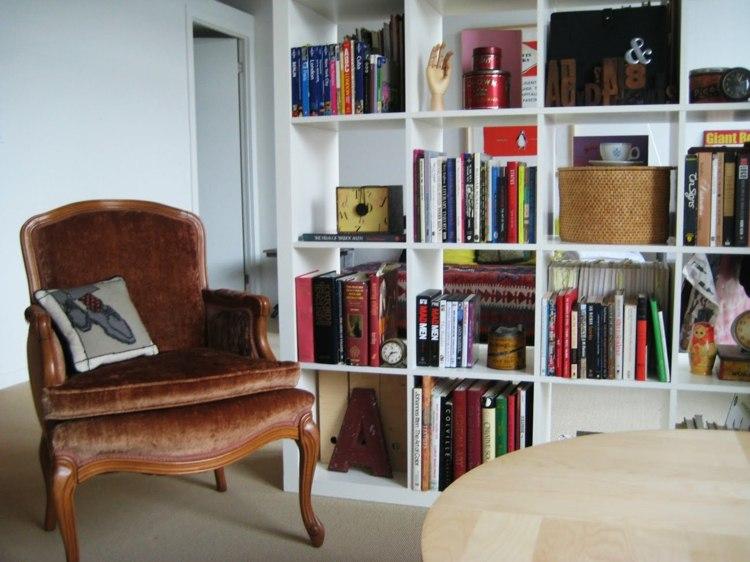 separador espacio zonas lecturas cuero