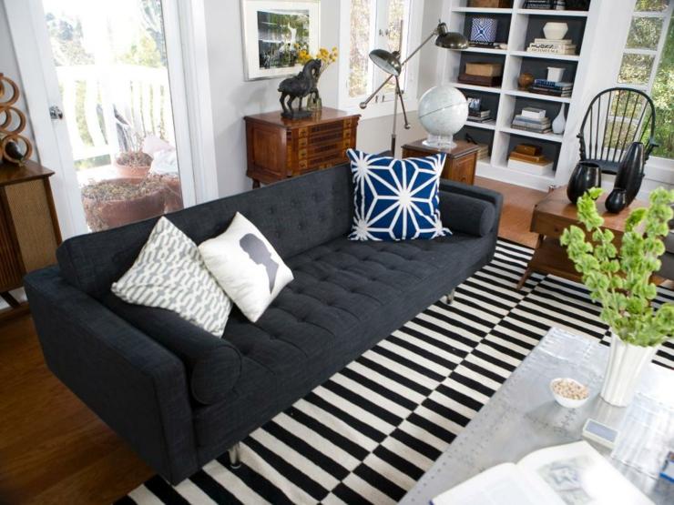 sofa de salon casas decorados ambientes ideas rocas
