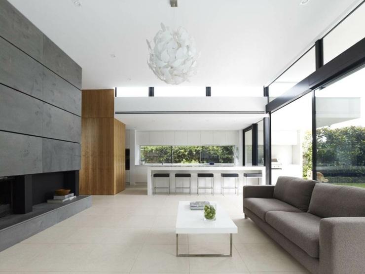 sofa de salon casas decorados lujoso estilos maderas