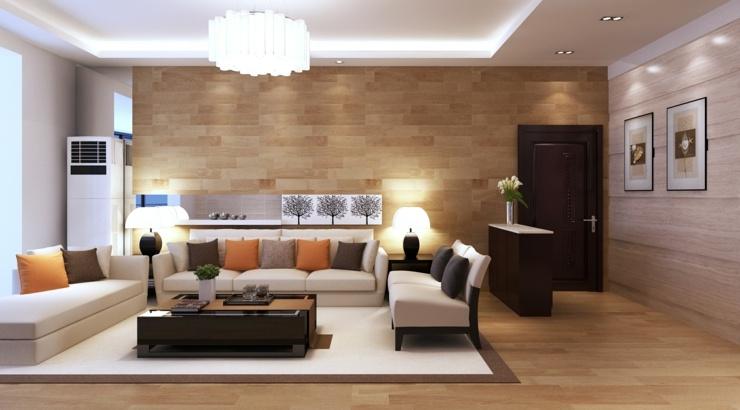 sofa de salon coloridos cojines sitios madera