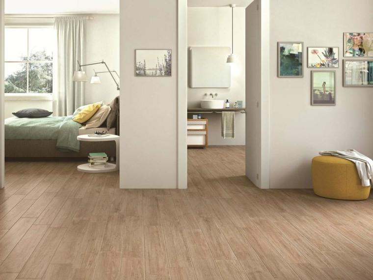 suelo laminado apartamento color claro ideas