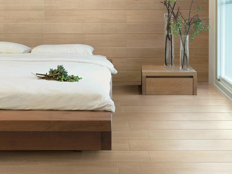 suelo-laminado-pared-madera-mesita-noche