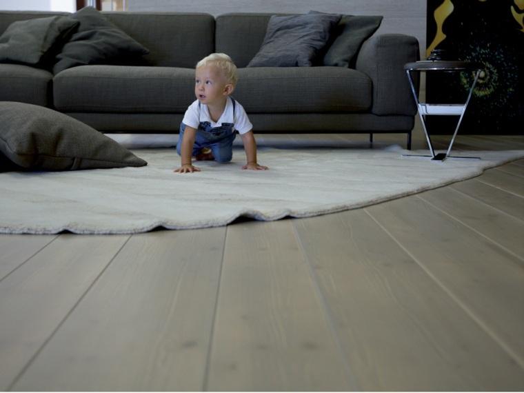 suelo parquet sofa madera alfombra ideas