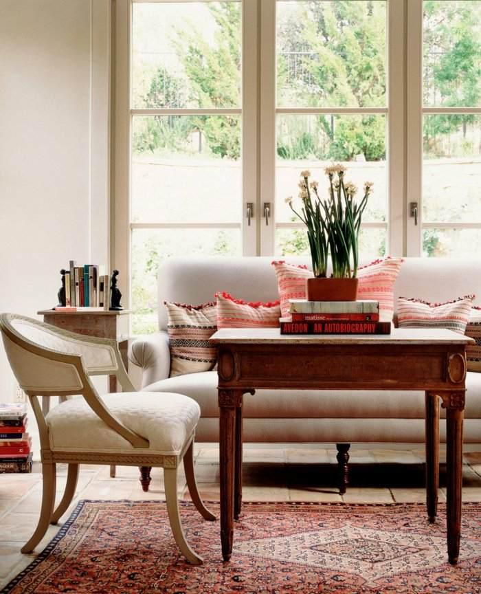 suelos chimeneas decorado estilos cortinas ventanas