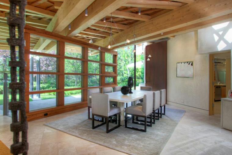 techo madera natural rústica