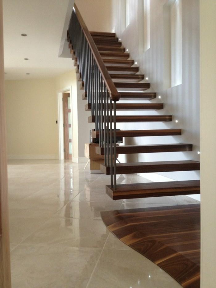 tenue escaleras led variaciones maderas luminarias
