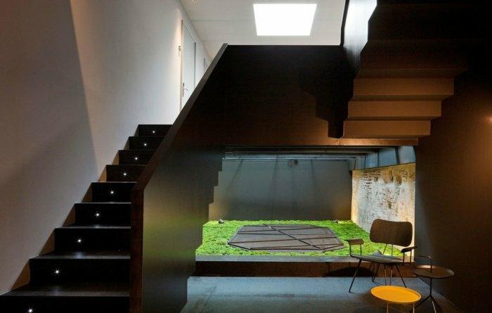 tenue escaleras led variaciones sillas