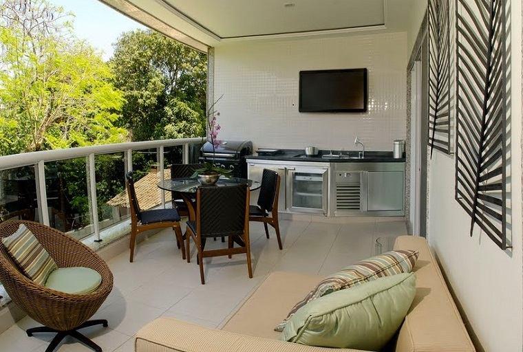 terraza groumet cocina diseño moderno