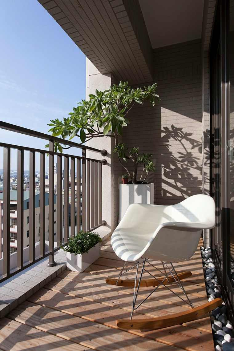 ideas para decorar terraza decorada estilo minimalista
