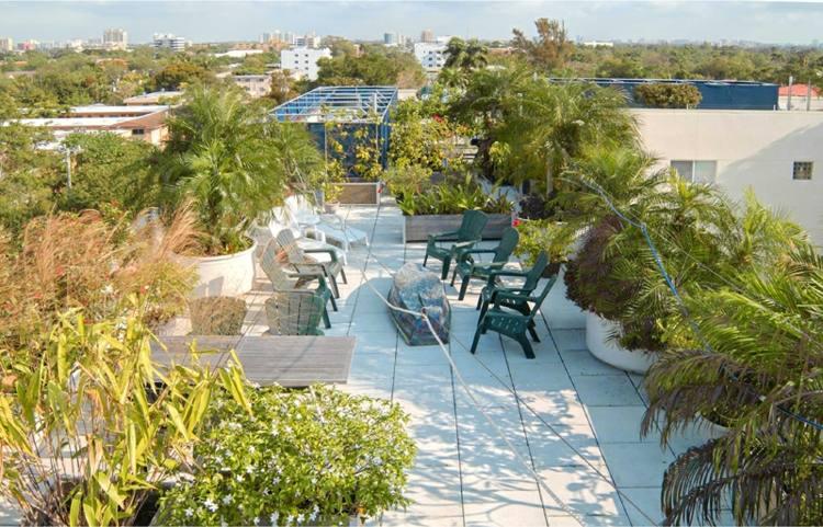 terraza ático moderna estuoenda plantas