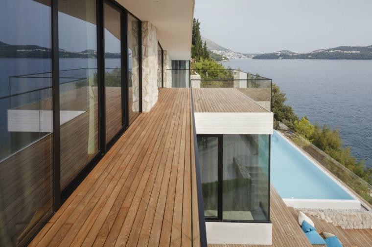 terrazas balcones modernos cerrados deco