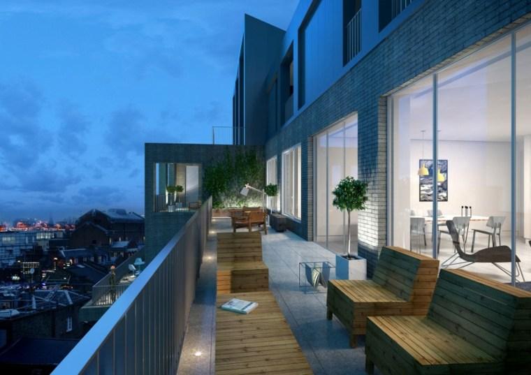 terrazas loft sillones vistas aire libre ideas