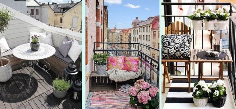 Decoracion de balcones y terrazas peque as 99 ideas for Ideas de decoracion economicas