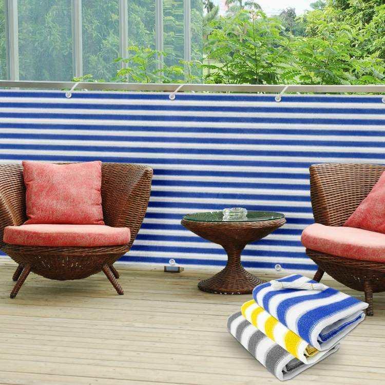 terrazas practicas coloridas zona muebles lineas