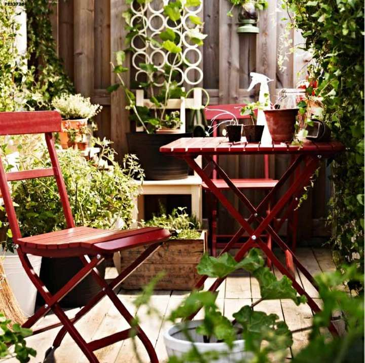 terrace deco spring