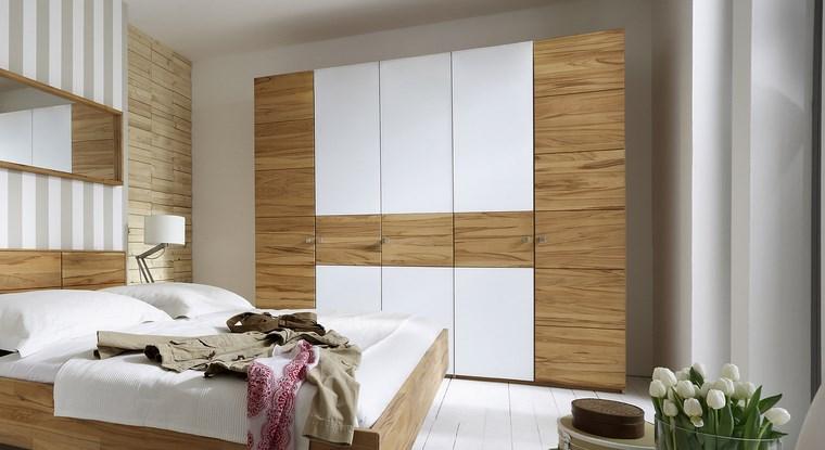 tipos madera armarios dormitorio blanco madera clara ideas