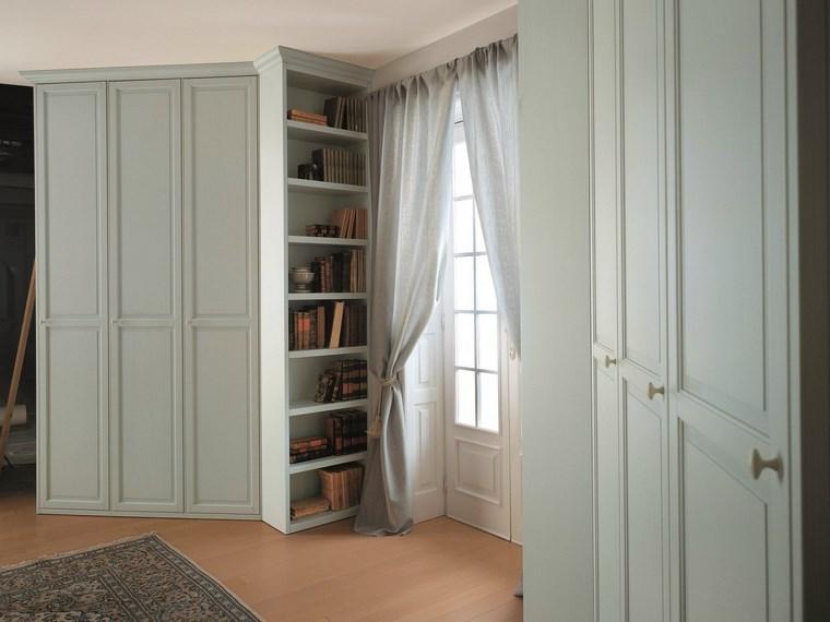 tipos madera armarios dormitorio color gris ideas