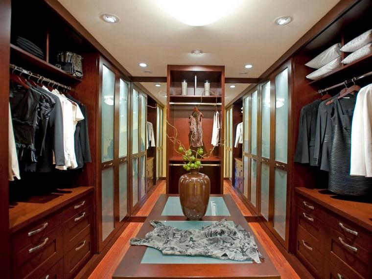 tipos madera armarios dormitorio diseno bonito moderno ideas