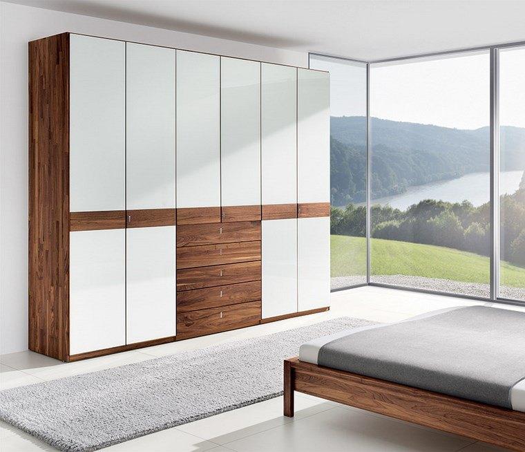 Tipos madera perfectos para muebles 66 armarios modernos -