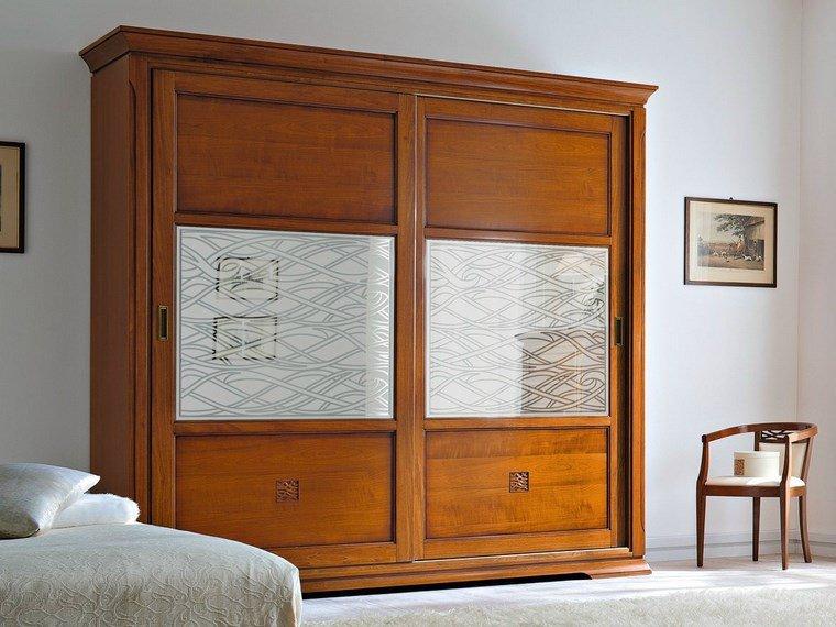 Tipos madera perfectos para muebles 66 armarios modernos - Armarios puertas correderas espejo ...