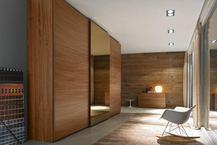 Tipos madera perfectos para muebles 66 armarios modernos for Espejo grande dormitorio