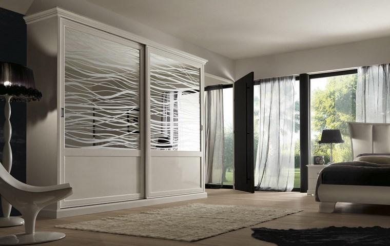 Tipos madera perfectos para muebles 66 armarios modernos - Armario dormitorio blanco ...