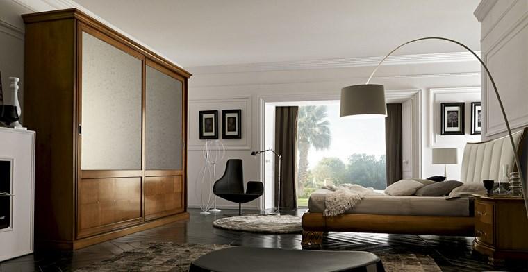 madera armarios dormitorio laminas decorativas ideas