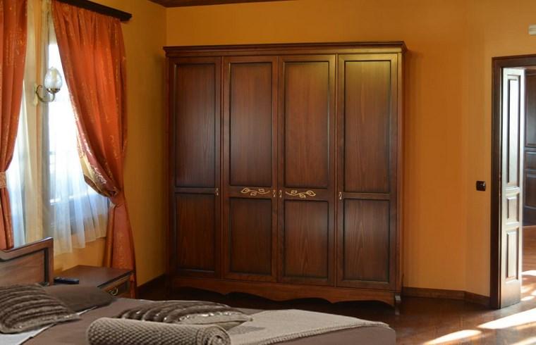 madera armarios dormitorio madera oscura ideas