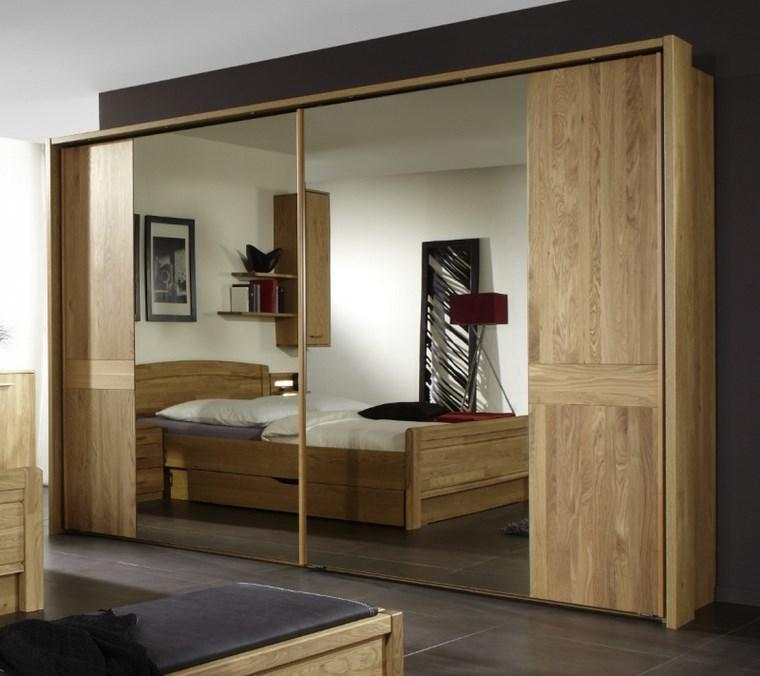 Tipos madera perfectos para muebles 66 armarios modernos for Puertas de corredera para dormitorio