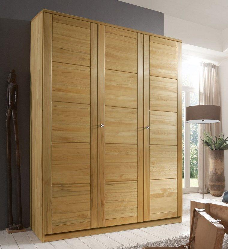 Tipos madera perfectos para muebles 66 armarios modernos Disenos modernos con elementos de madera
