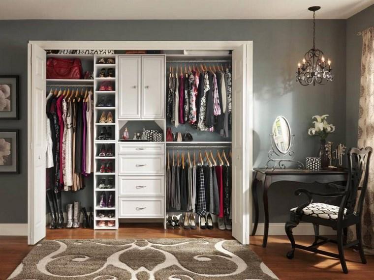 madera armarios dormitorio opciones empotrados ideas