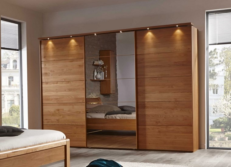 Tipos madera perfectos para muebles 66 armarios modernos - Armarios dormitorio ...