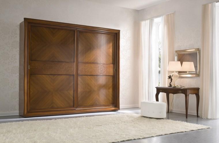 madera armarios dormitorio toques matices ideas
