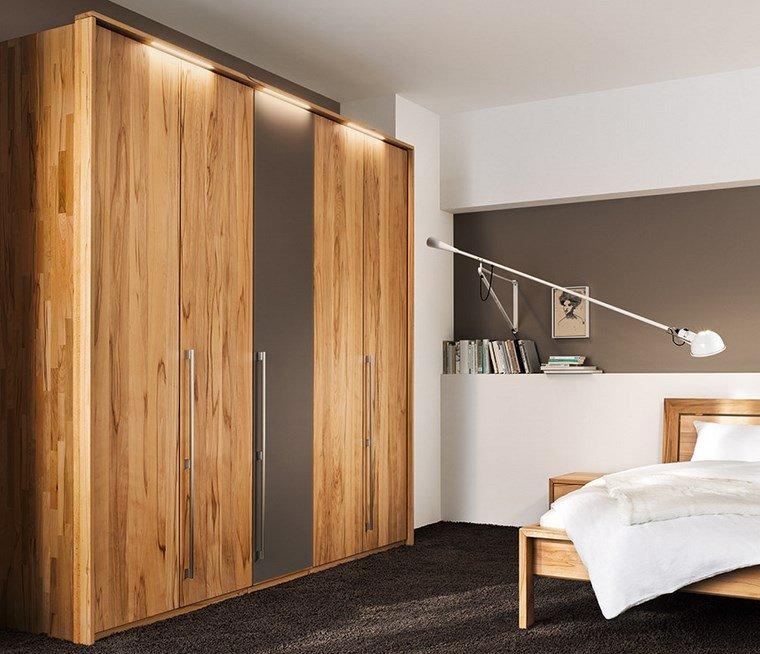 madera armarios dormitorio tradicional ideas