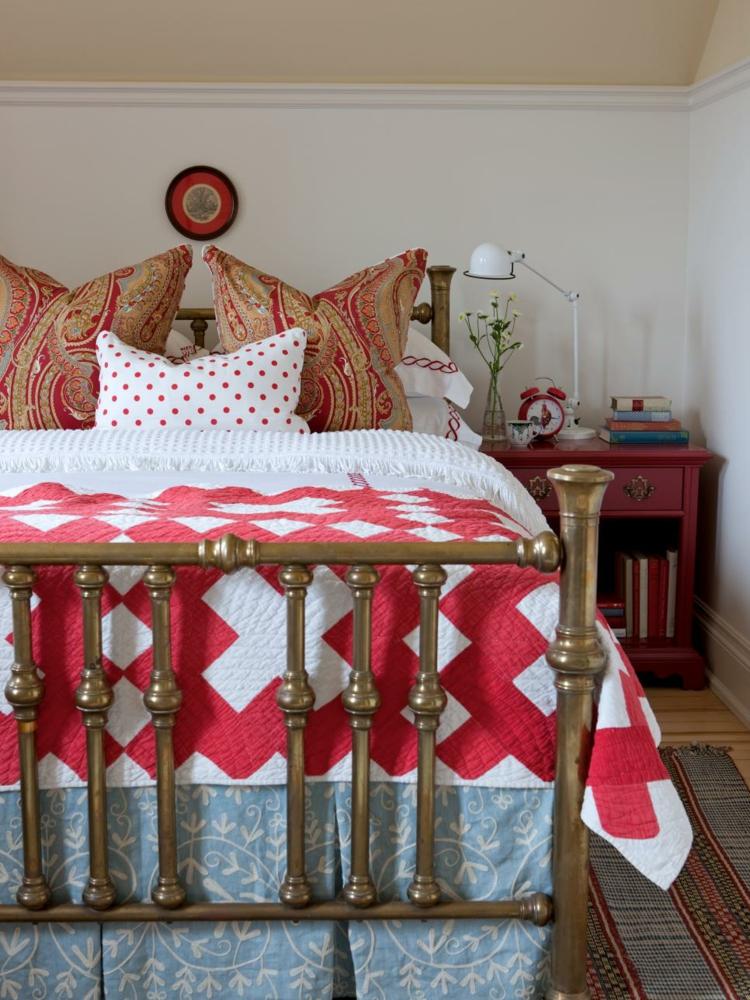 tradiciones camas antiguas ideas rojo