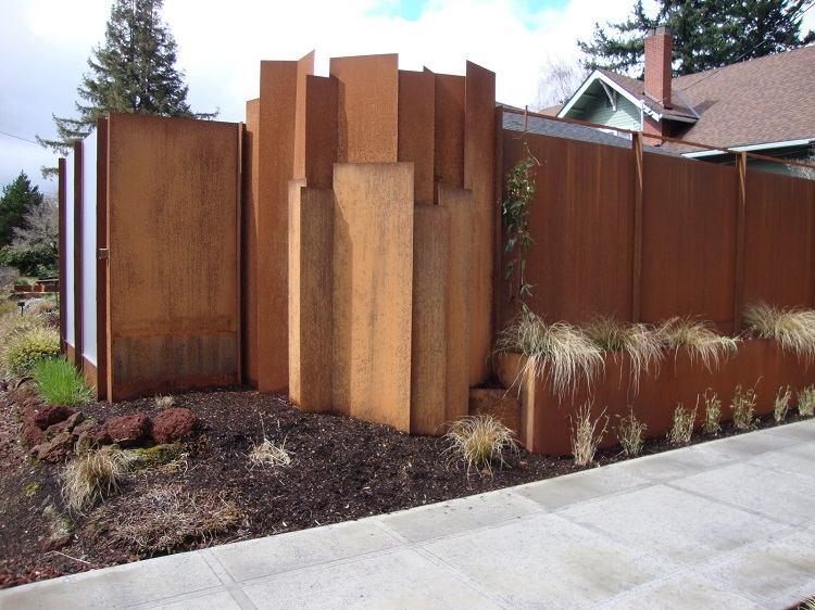 original diseño muro jardín