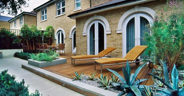variaciones patios detalles estilos maderas