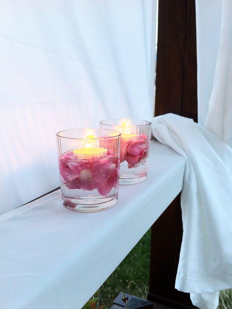 Velas flotantes para decorar treinta y ocho ideas - Velas de agua ...