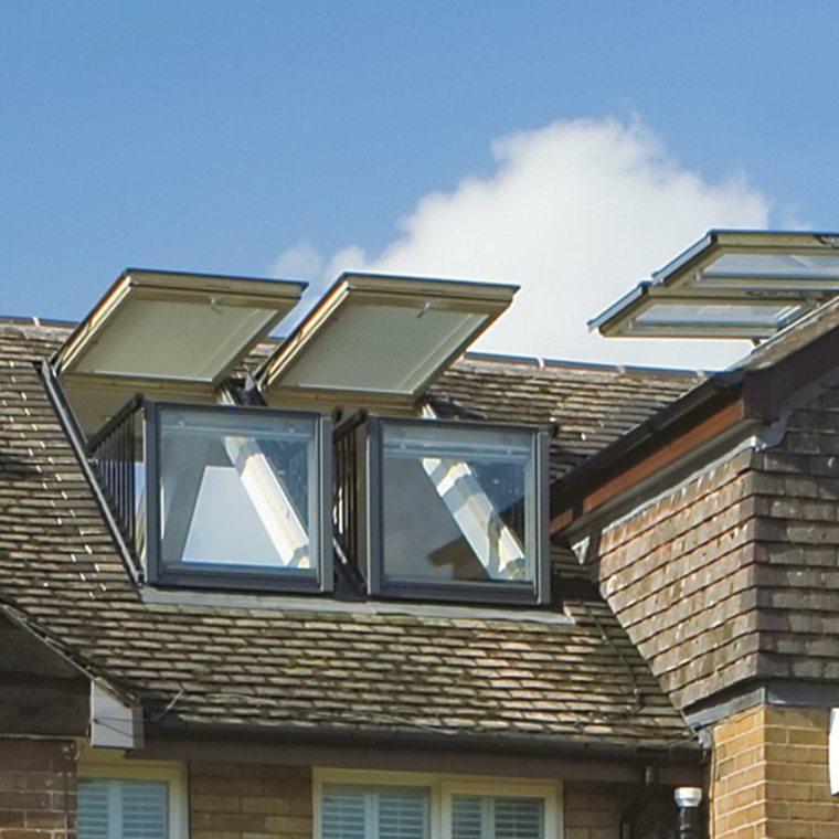 ventanas bonitas techo casa moderna opciones ideas