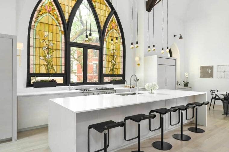ventanas cristales ideas para cocinas ideas