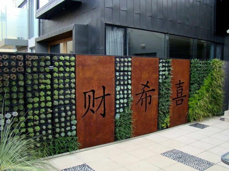 verticales ideas detalles salones letras muros