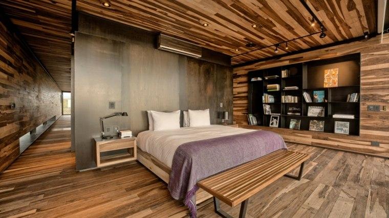 A4estudio diseno dormitorio moderno madera ideas