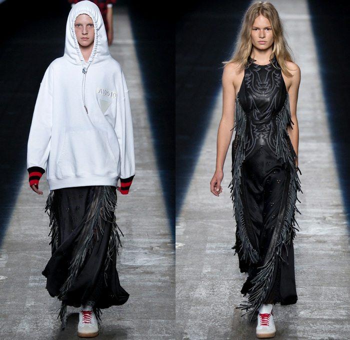 Alexander Wang 2016 coleccion primavera verano falda larga ideas