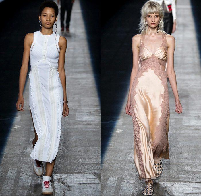 Alexander Wang 2016 coleccion primavera verano vestidos largos ideas