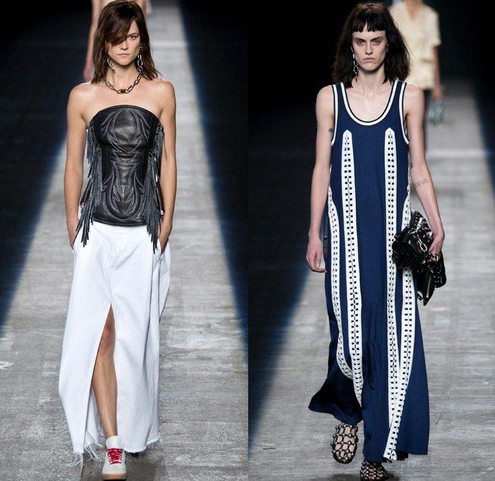 Alexander Wang 2016 coleccion primavera verano vestidos lijeros ideas