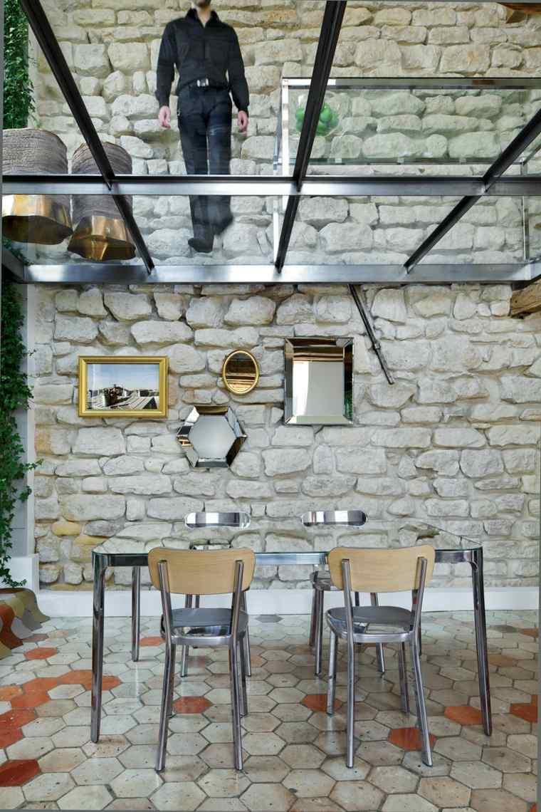 Ateliers Michael Herrma diseno comedor techo crital ideas